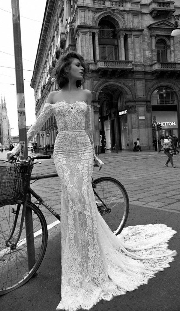 liz martinez gorgeous illusion mermaid lace wedding dresses