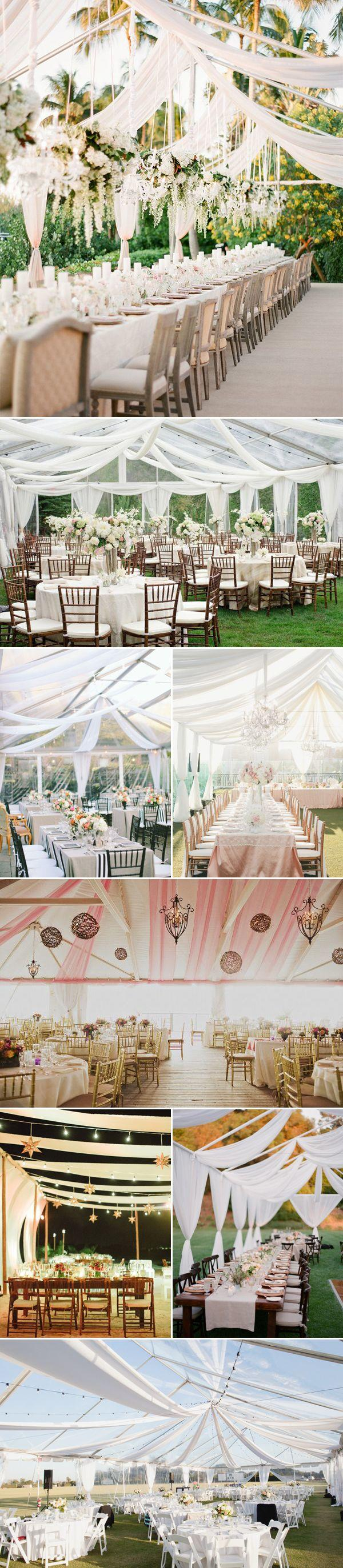 beautiful wedding reception ideas with tents for outdoor wedding ideas
