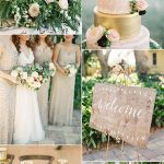 Rustic Elegance Wedding-Blush Pink and Gold Color Inspiration