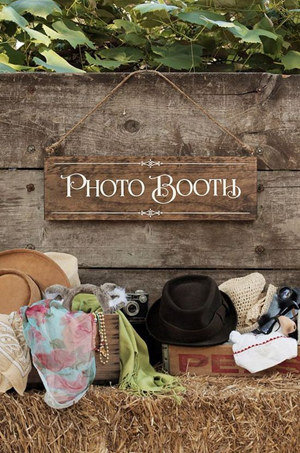 country themed photo booth wedding ideas 2017 trends