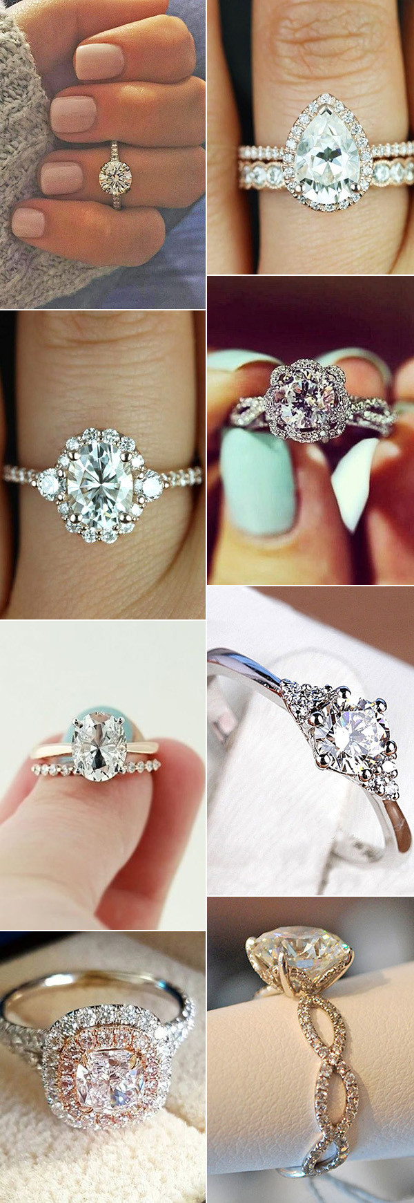 2017 trending amazing wedding engagement rings ideas - Amazing Wedding Rings