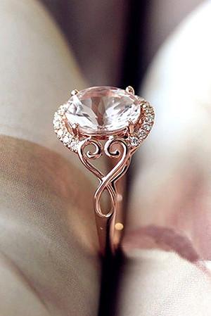 morganite wedding engagement rings for 2017