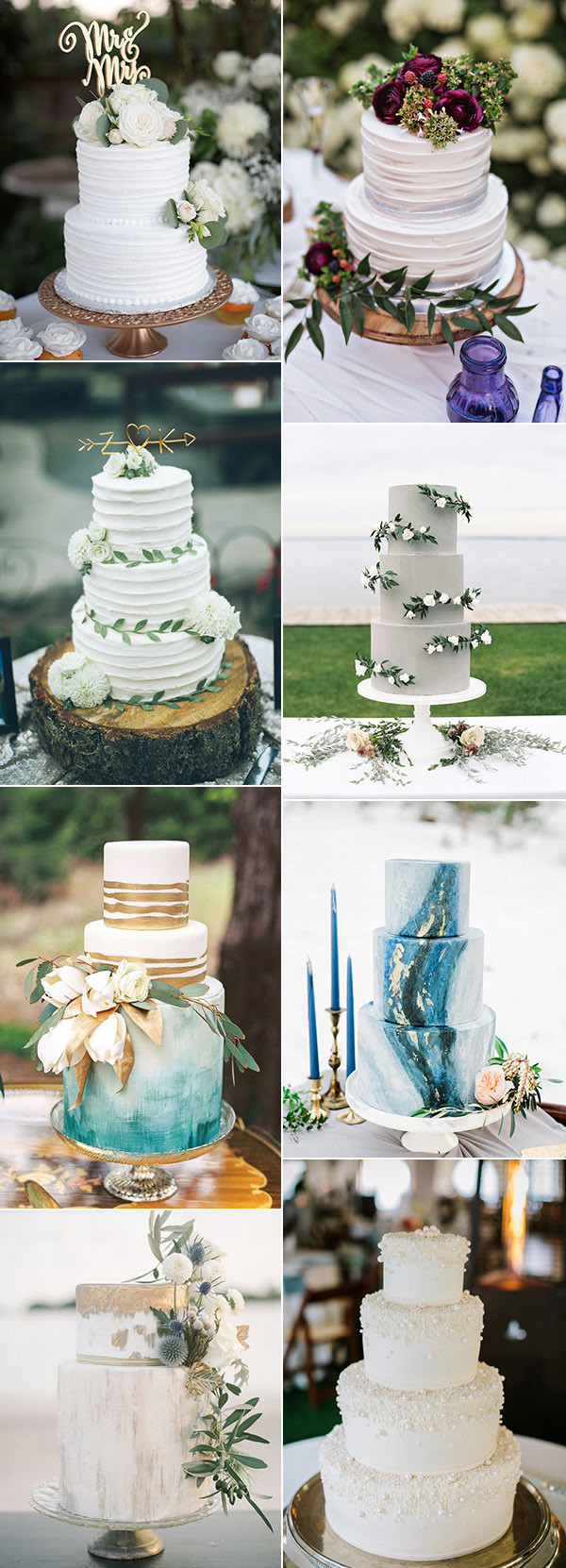 2017 trending stunning wedding cakes for wedding ideas