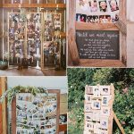 25 Amazing Wedding Photo Display Ideas to Love