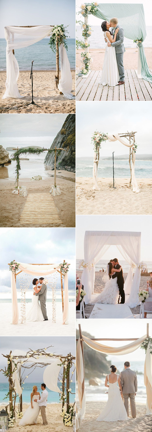 Trending Wedding Arches For A Perfect Beach