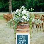 20 Adorable Ways to Use Wine Barrels for Your Country Wedding