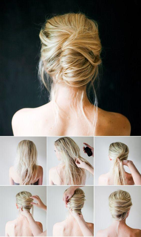 diy updo bridal hairstyles with tutorial
