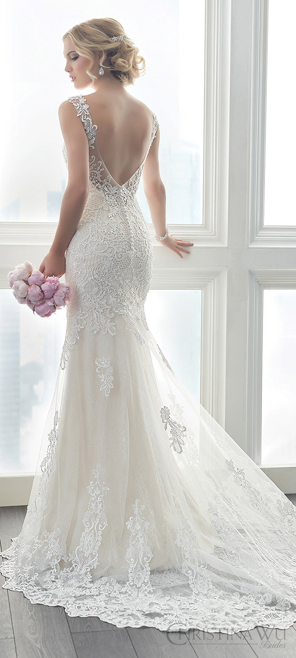20 gorgeous wedding dresses for 2017 brides oh best day ever for Bride dress after wedding