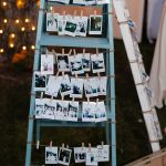25 Perfect Wedding Decoration Ideas with Vintage Ladders