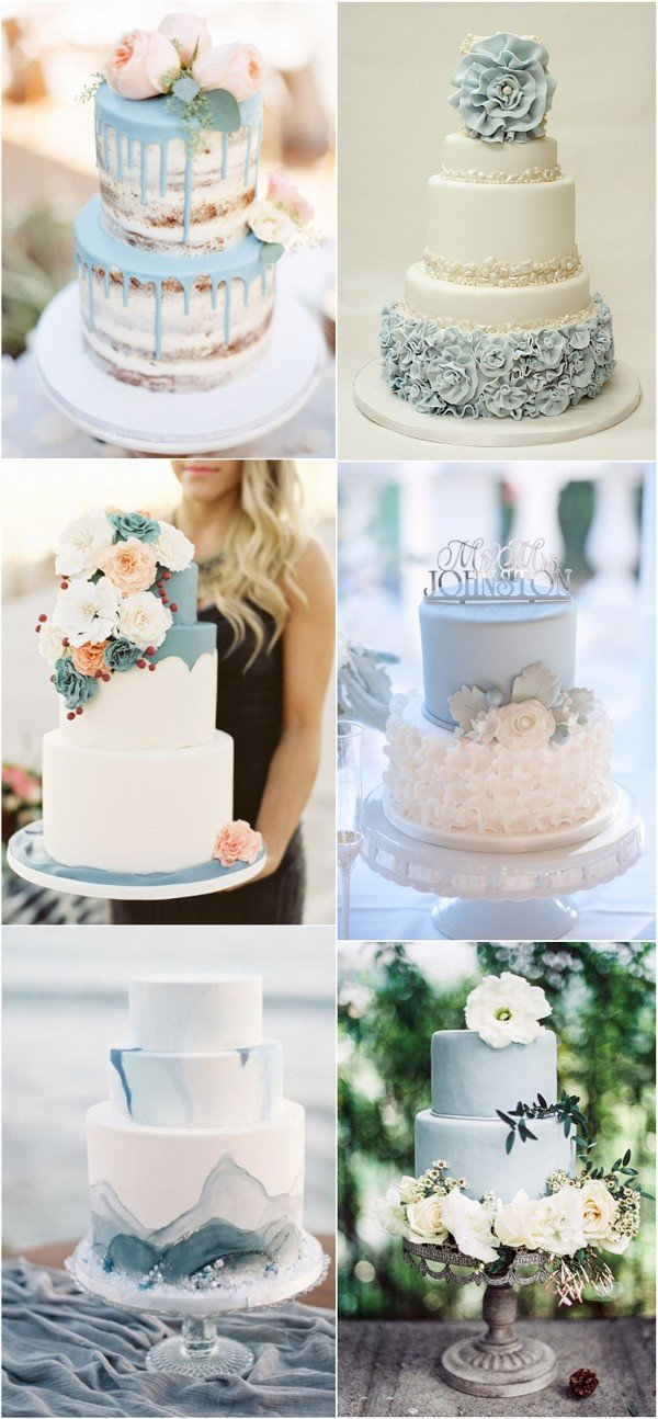 24 Brilliant Dusty Blue Wedding Color Ideas