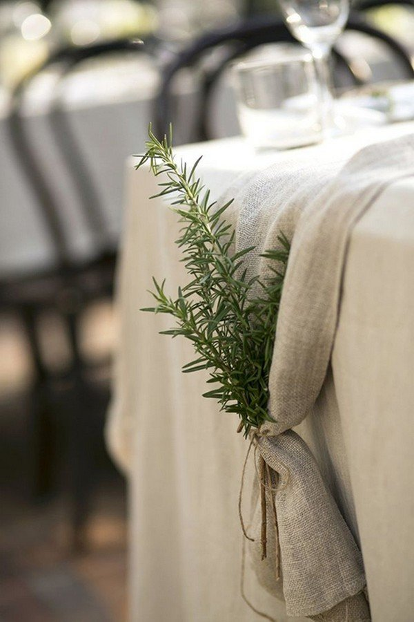 greenery wedding table decoration ideas