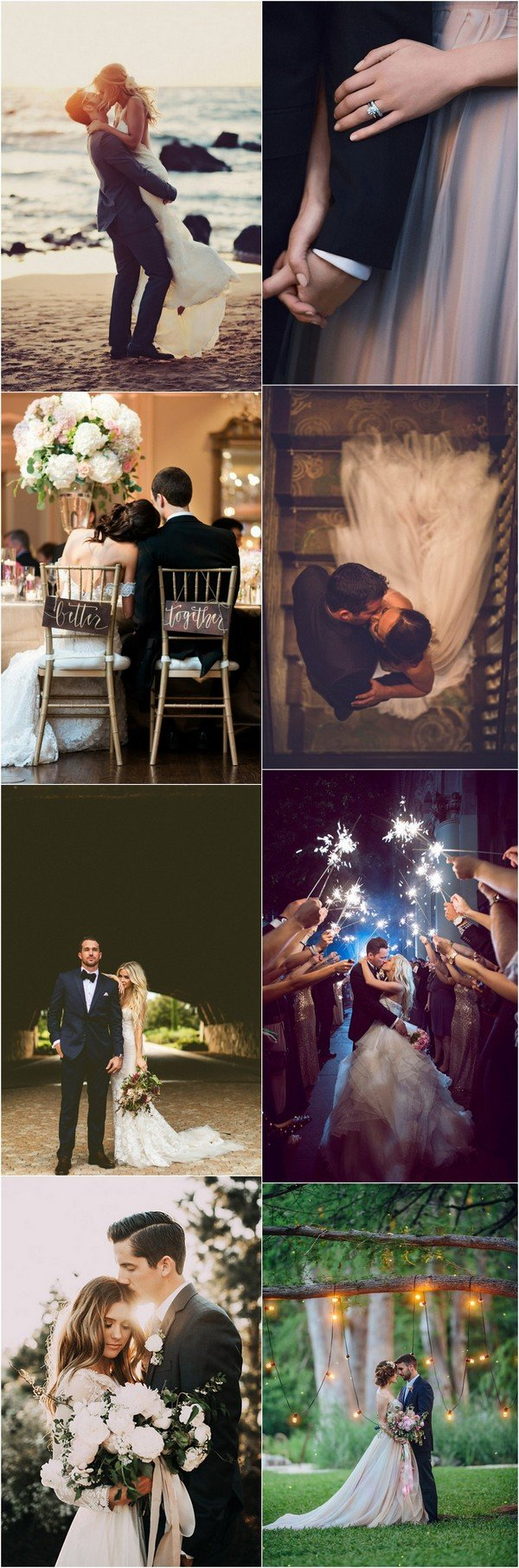 romantic bride and groom wedding photo inspiration