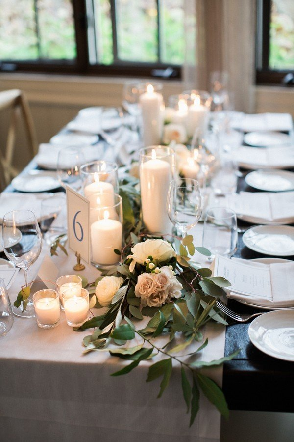 20 brilliant wedding table decoration ideas page 2 of 2 for Floral table decorations for weddings
