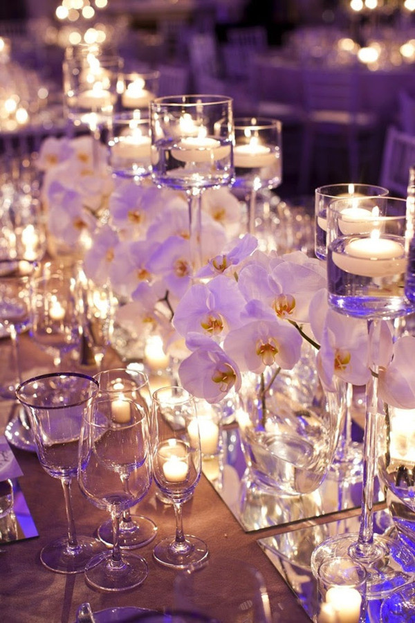 Wedding centerpiece ideas archives oh best day ever whimsical wedding centerpiece ideas with floating candles and mirror junglespirit Images
