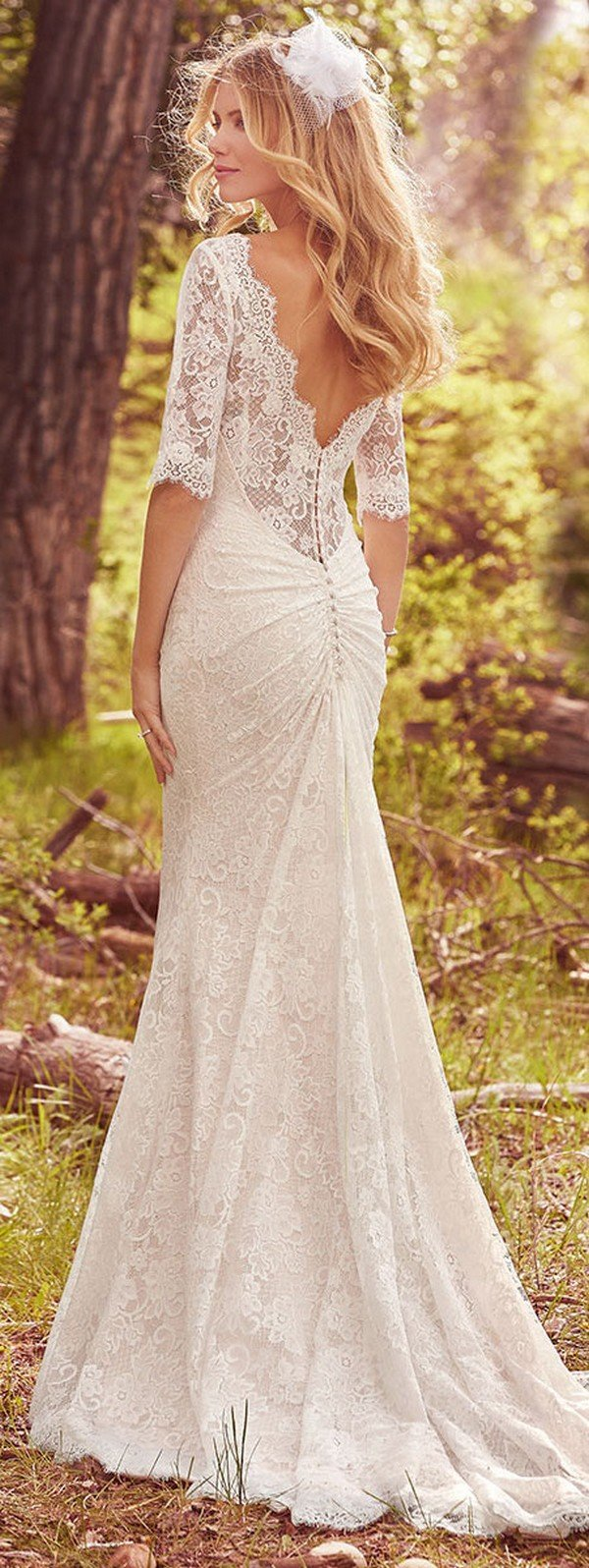 Maggie Sottero Lace Wedding Dresses 2018 Discount