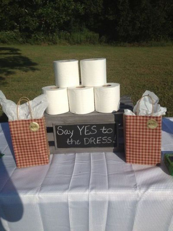 Say Yes To The Dress bridal shower game