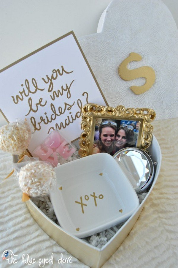 10 Creative Ways To Ask Will You Be My Bridesmaid Oh