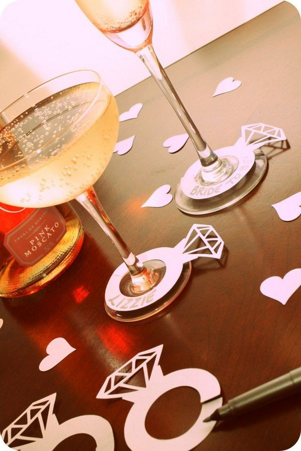 unique bridal shower drink ideas