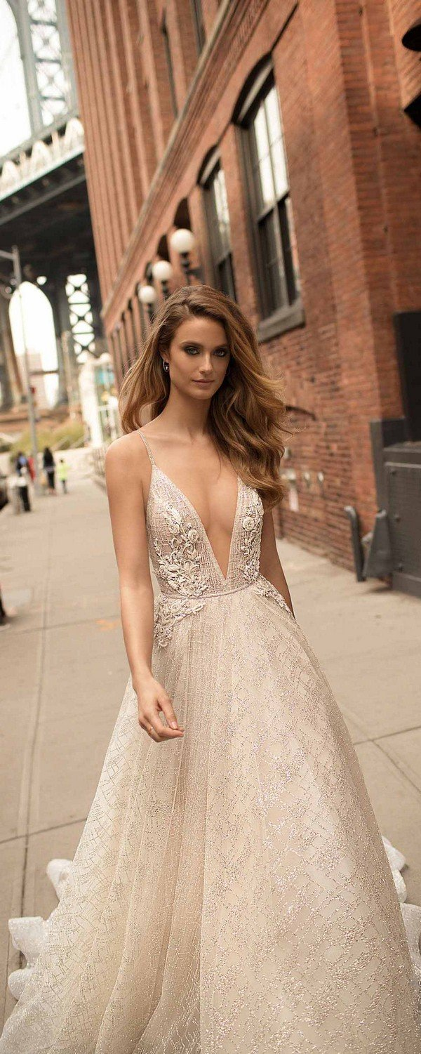 Spaghetti Straps berta 2018 wedding dresses 18-17