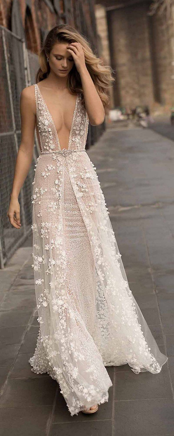Berta wedding dresses spring summer 2018 collection oh for Best dresses for summer wedding