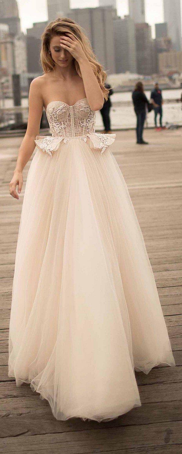 berta strapless blush wedding dresses 2018 spring collection 18-9