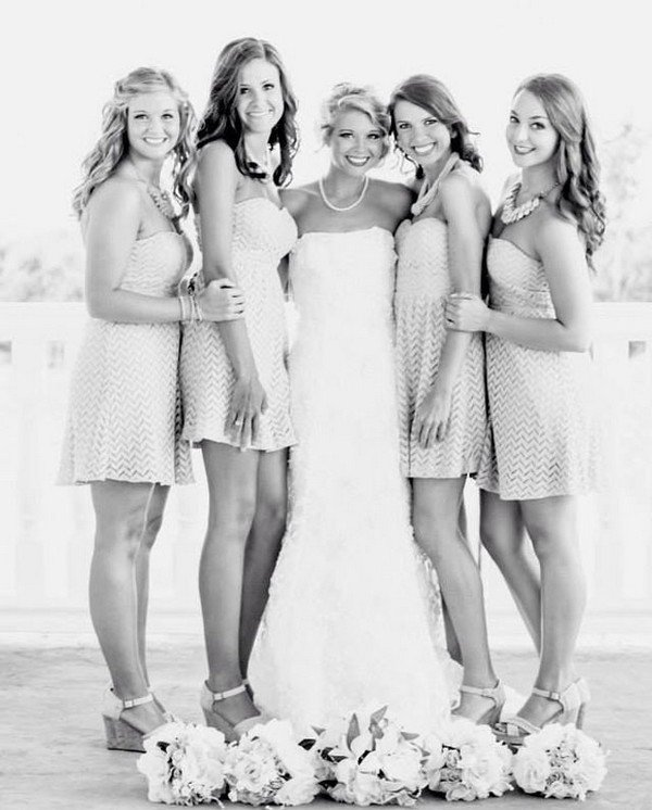 bridal party wedding photo ideas