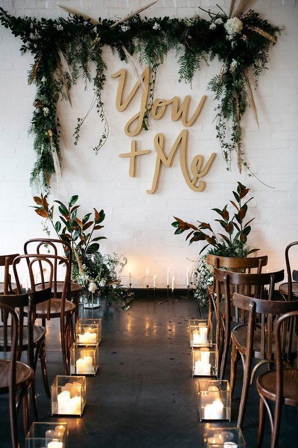 Wedding aisle decorations archives oh best day ever chic rustic wedding ceremony decoration ideas junglespirit Image collections
