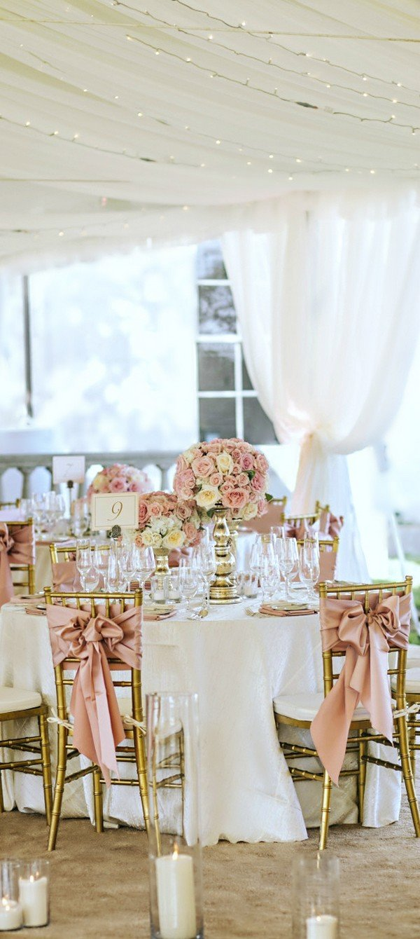 Trending 24 Dusty Rose Wedding Color Ideas For 2017