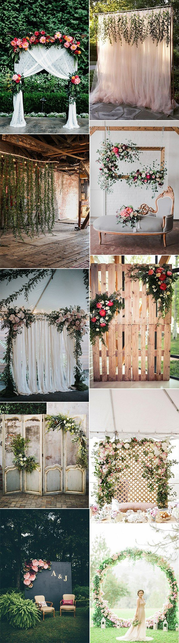 Trending 15 hottest wedding backdrop ideas for your ceremony oh hottest wedding backdrop ideas for your ceremony junglespirit Image collections