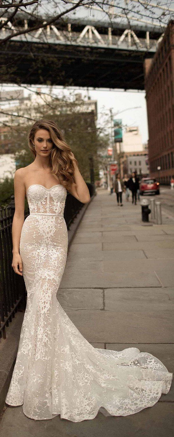 strapless mermaid berta wedding dresses 2018 18-16