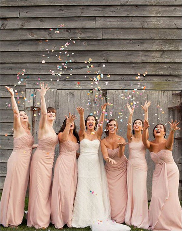 wedding photo ideas with bridal party
