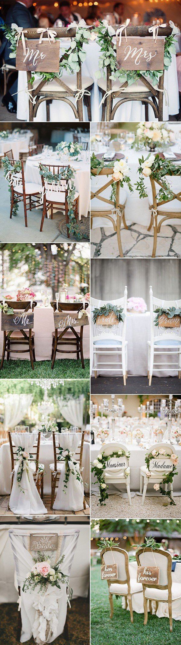 Amazing Bride And Groom Wedding Chair Decoration Ideas