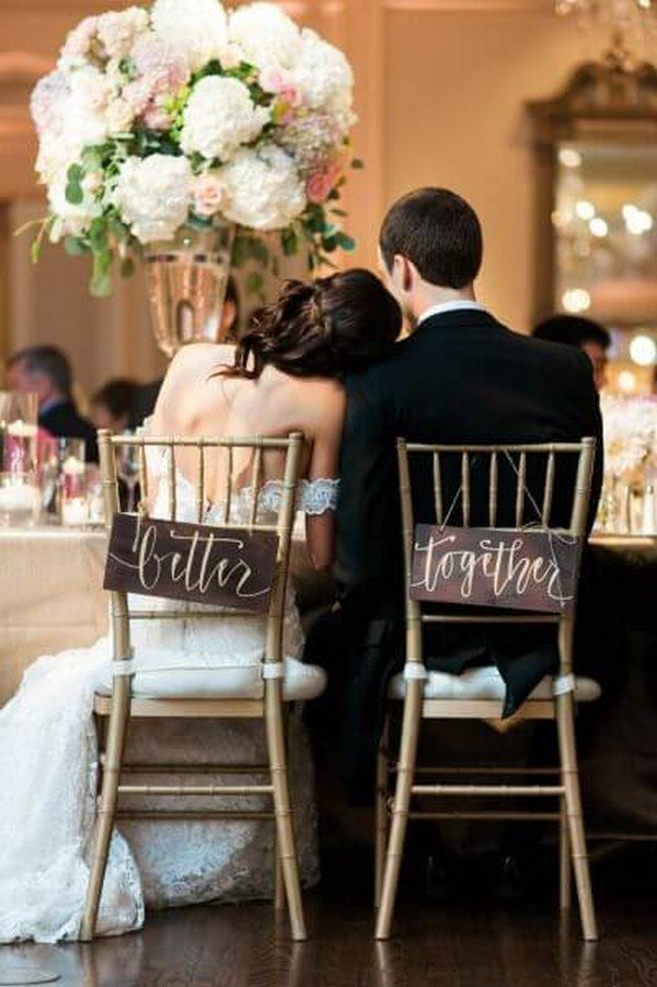 bride and groom wedding chair decoration ideas