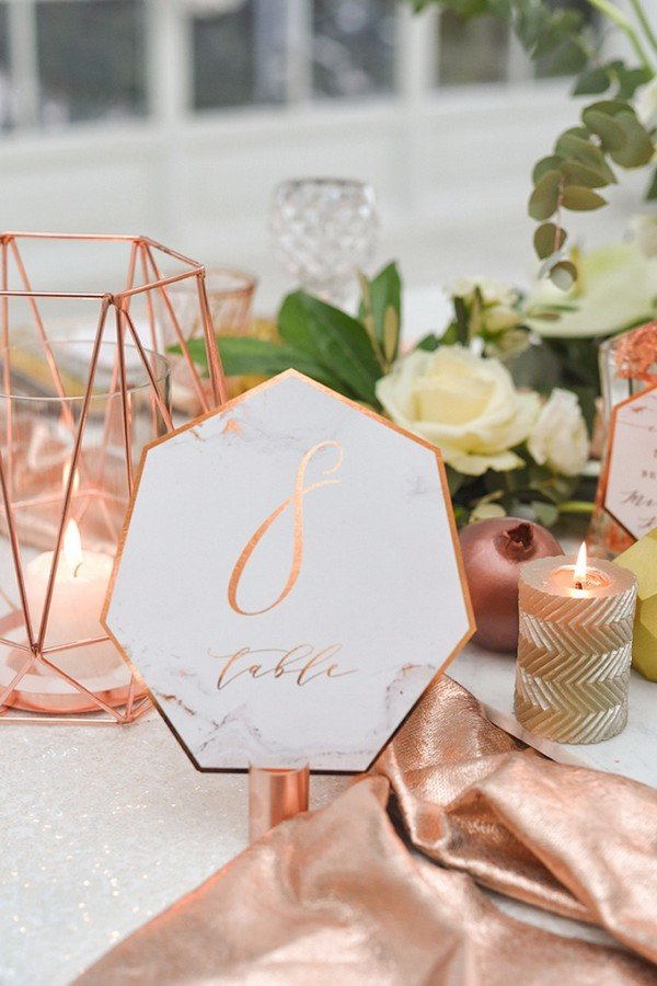 18 Inspiring Wedding Table Number Ideas To Love Page 3