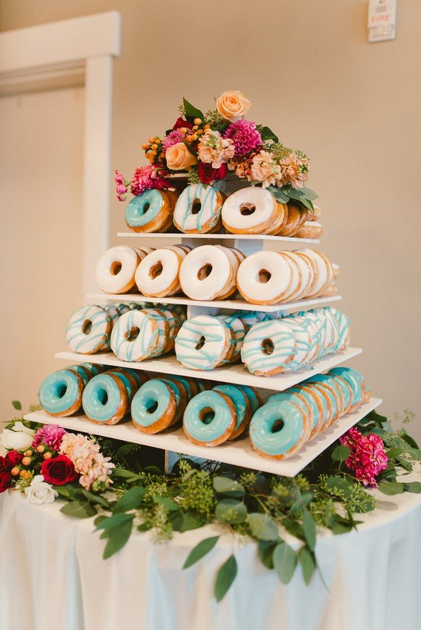 donut wedding cake ideas