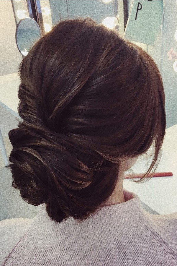 elegant updos wedding hairstyle