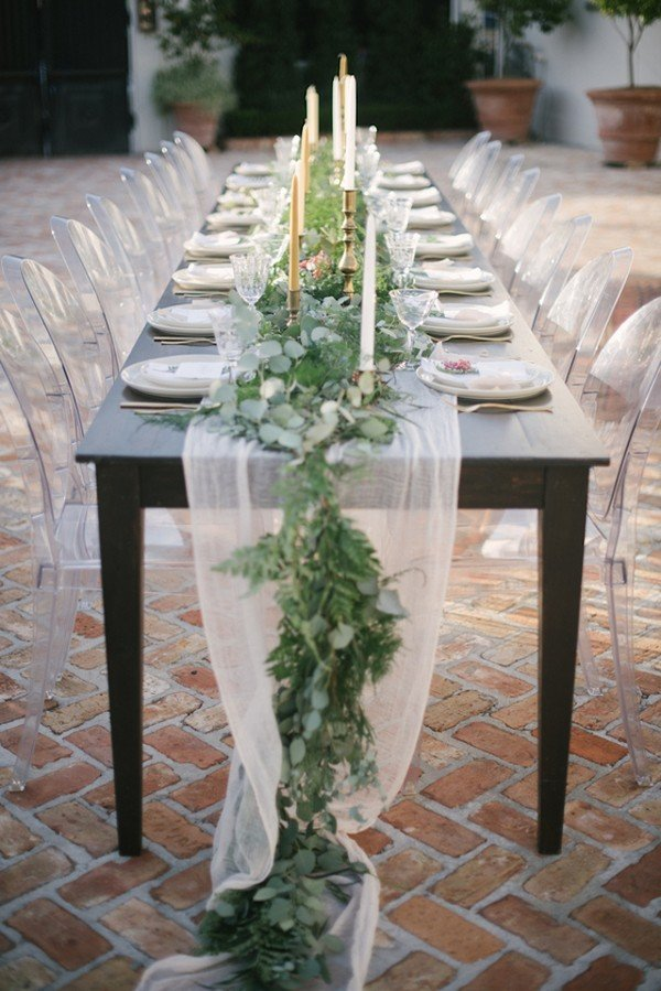 greenery wedding centerpiece ideas on a budget