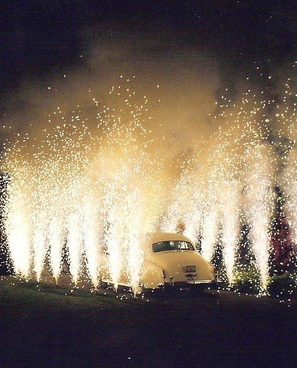 great gatsby themed sparlers send off wedding ideas