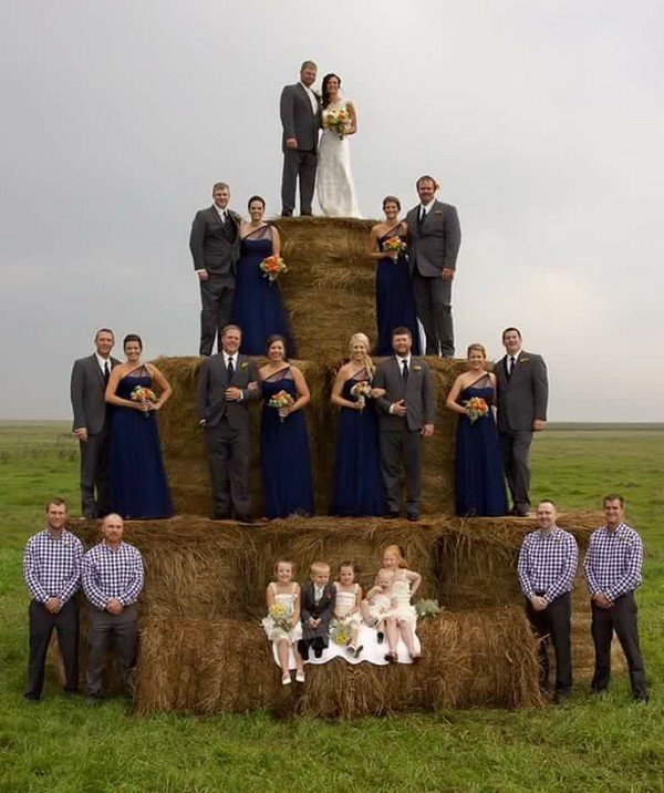 country rustic outdoor wedding photo ideas
