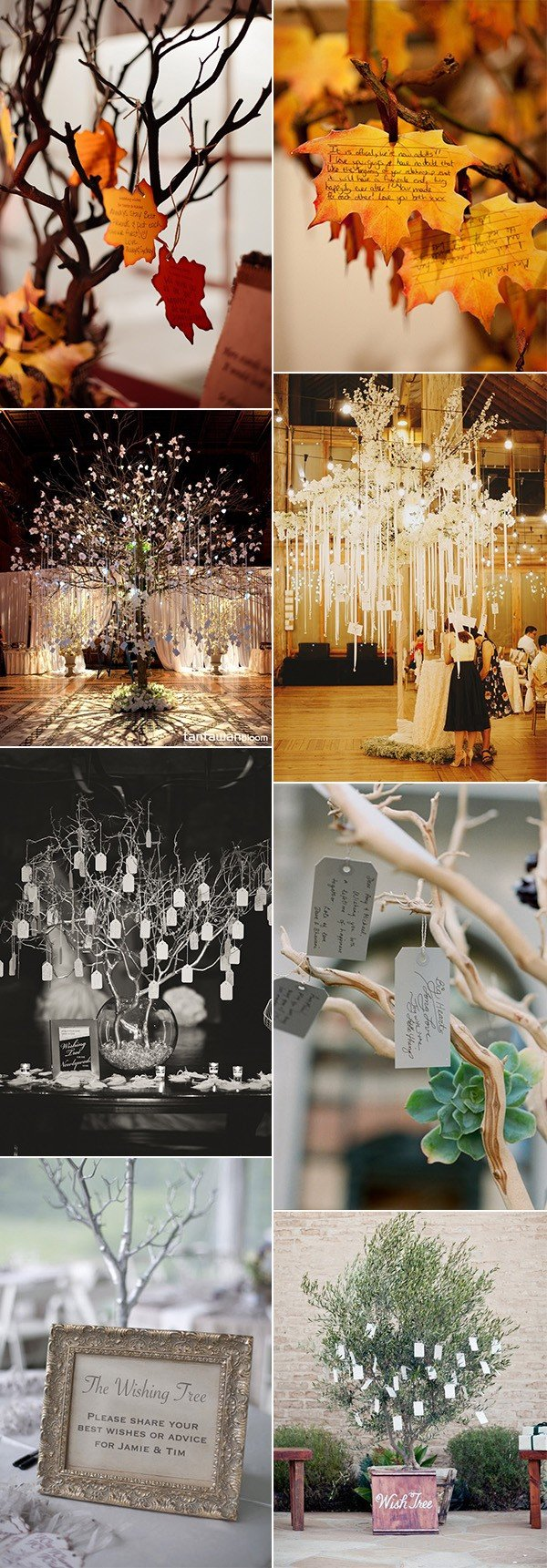 creative wedding wishing tree ideas for 2018