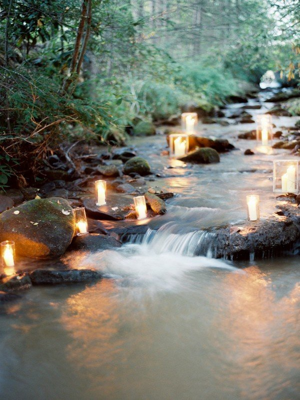 great wedding decoration ideas for mountain weddings