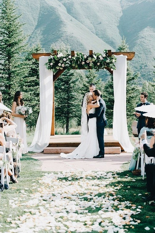 mountainside wedding ceremony ideas