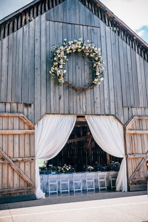 rustic barn wedding venue ideas for a farm wedding