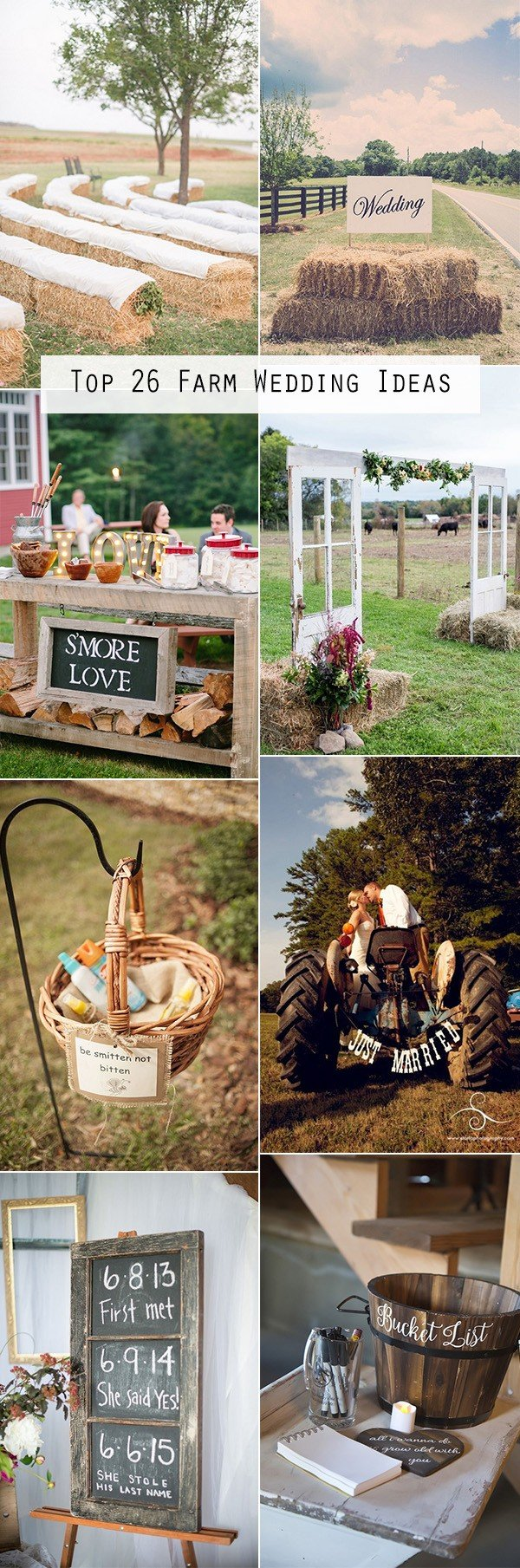 trending country rustic farm wedding ideas for 2018