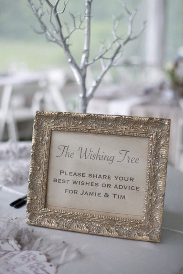 wishing tree decoration ideas for wedding day
