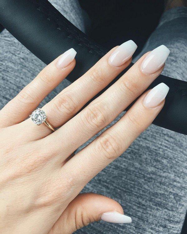 bridal nail designs for wedding day