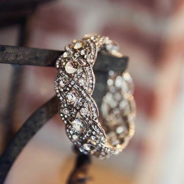 brilliant vintage wedding ring