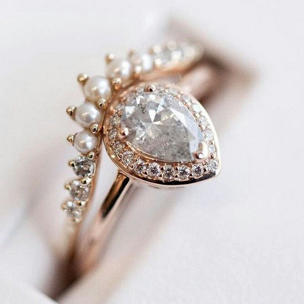 stunning vintage wedding engagement ring