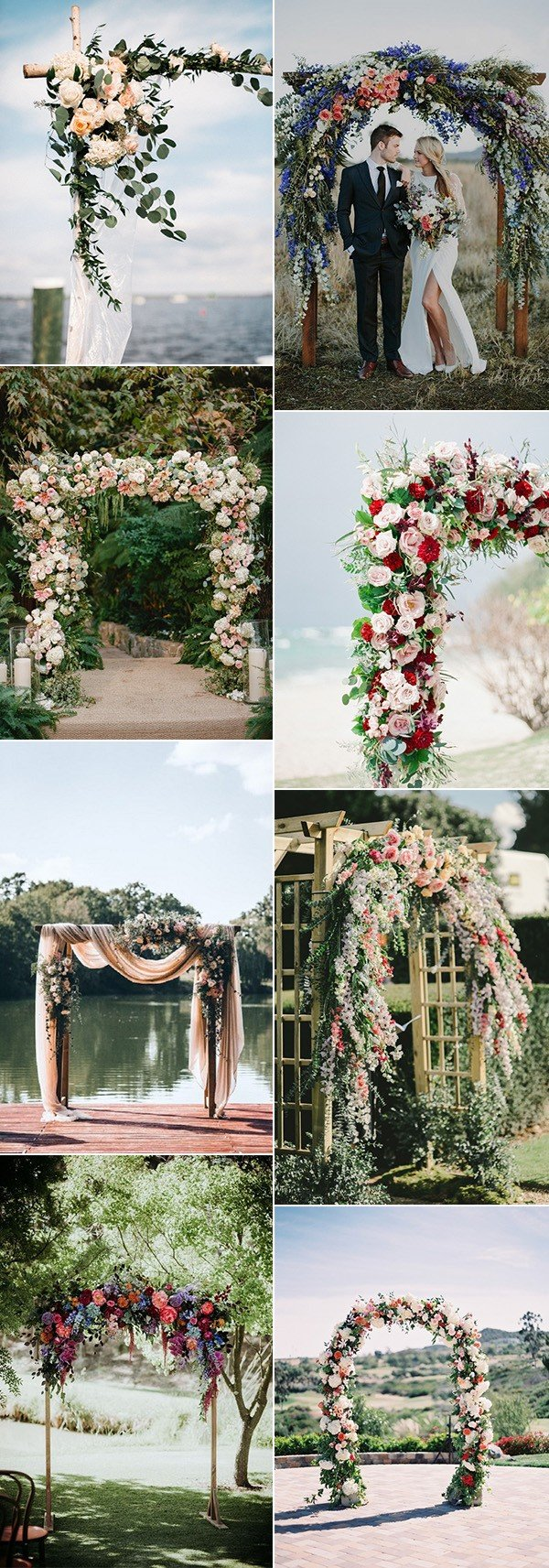 20 prettiest floral wedding arch decoration ideas page 2 for Arches decoration