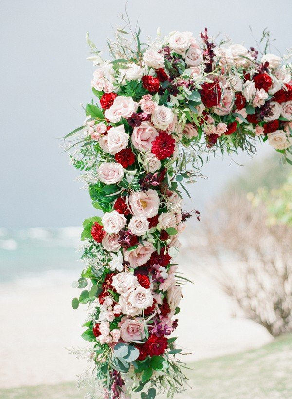 20 Prettiest Floral Wedding Arch Decoration Ideas - Page 2 ...